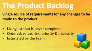 The Product Backlog
