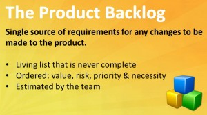 Scrum: The Product Backlog