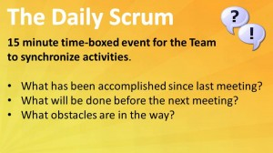 Scrum: The Daily Scrum