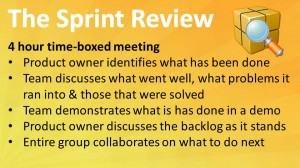 Scrum: The Sprint Review