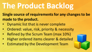 Scrum Product Backlog