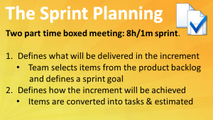 Scrum Sprint Planning
