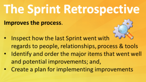 Scrum Sprint Retrospectives