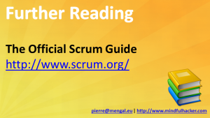 Scrum In Ten Slides Credits